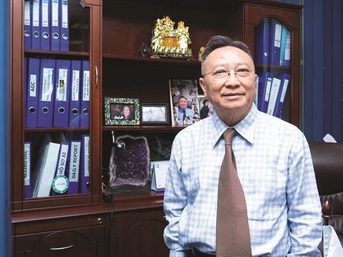 Ông Nguyễn Hữu Văn, Chủ tịch Hội đồng Quản trị Công ty Cổ phần VN Oil. Ảnh: Sơn Phạm