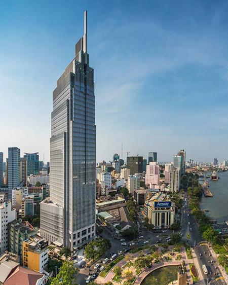 Một toà nhà hạng A - Vietcombank Tower