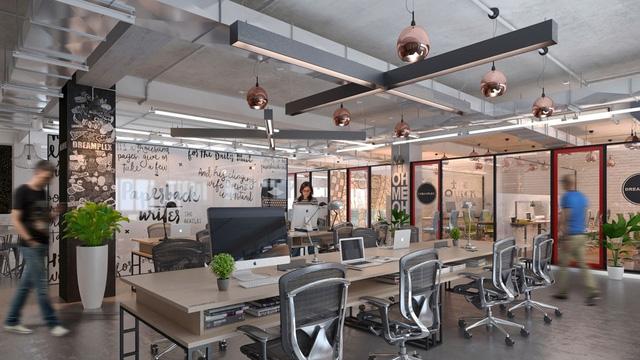 Mô hình Coworking space tại Dreamplex - Tầng 9 - 10 - 11 Tòa nhà Miss Áo Dài, Số 21 Nguyễn Trung Ngạn, Quận 1